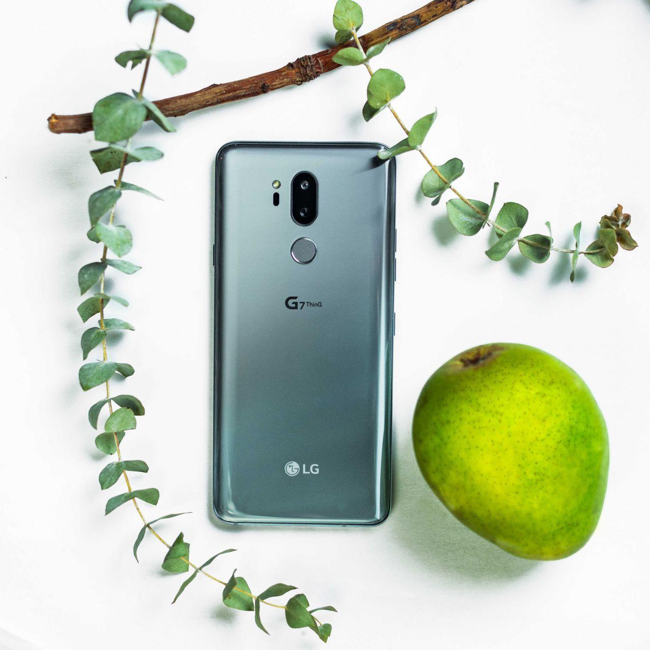LG G7 ThinQ'in yeni görselleri - 2 - Page 1