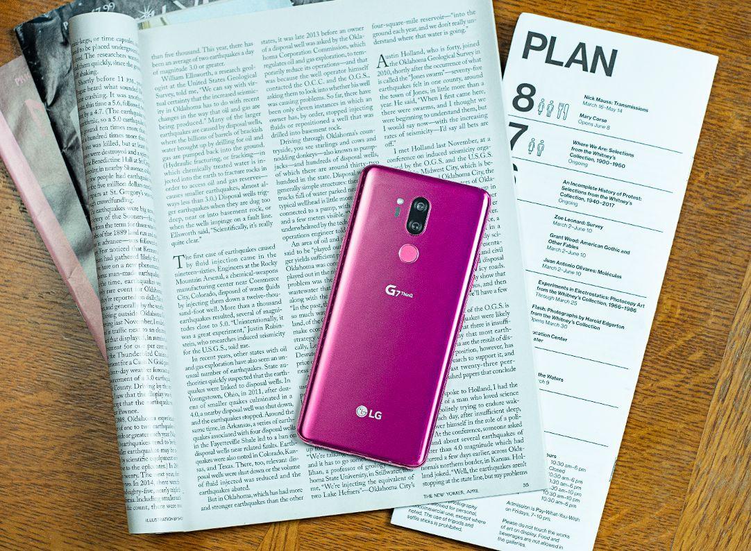 LG G7 ThinQ'in yeni görselleri - 2 - Page 2