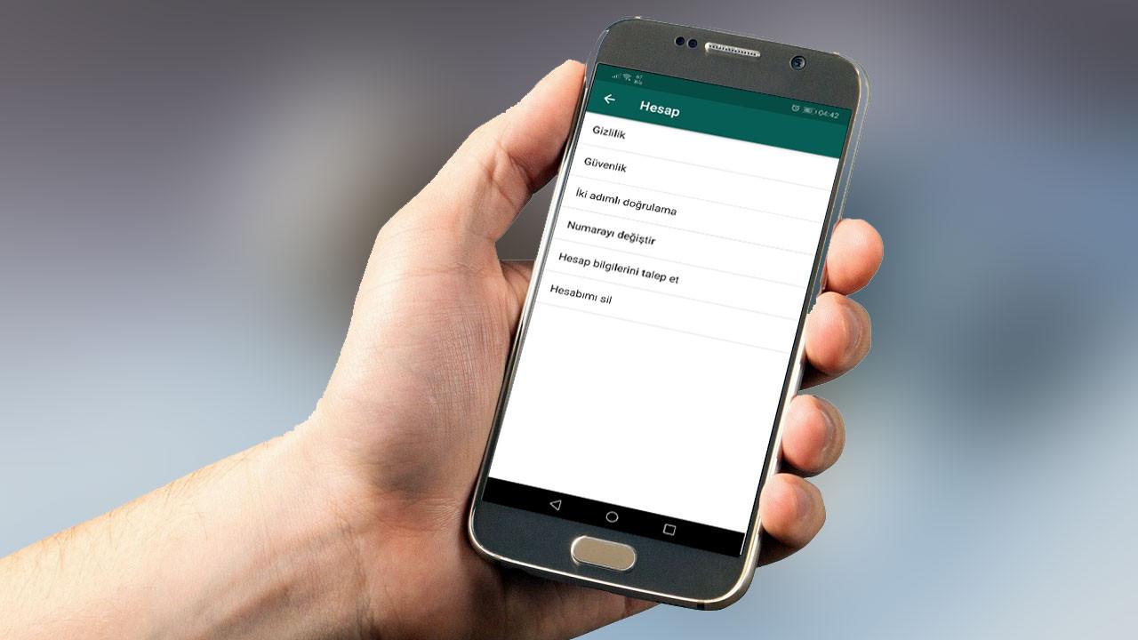 WhatsApp'ta hesap bilgileri nasıl istenir?