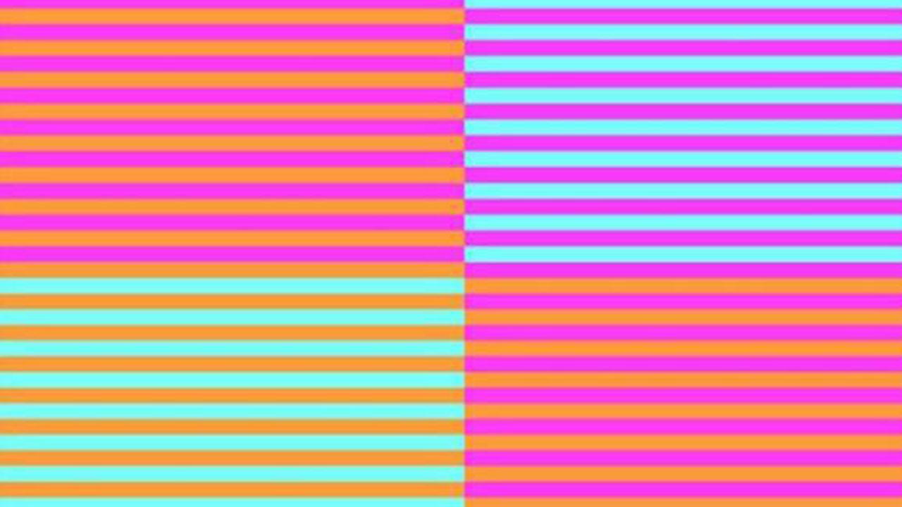 Yeni sosyal medya çılgınlığı: Bu resimde kaç renk var?