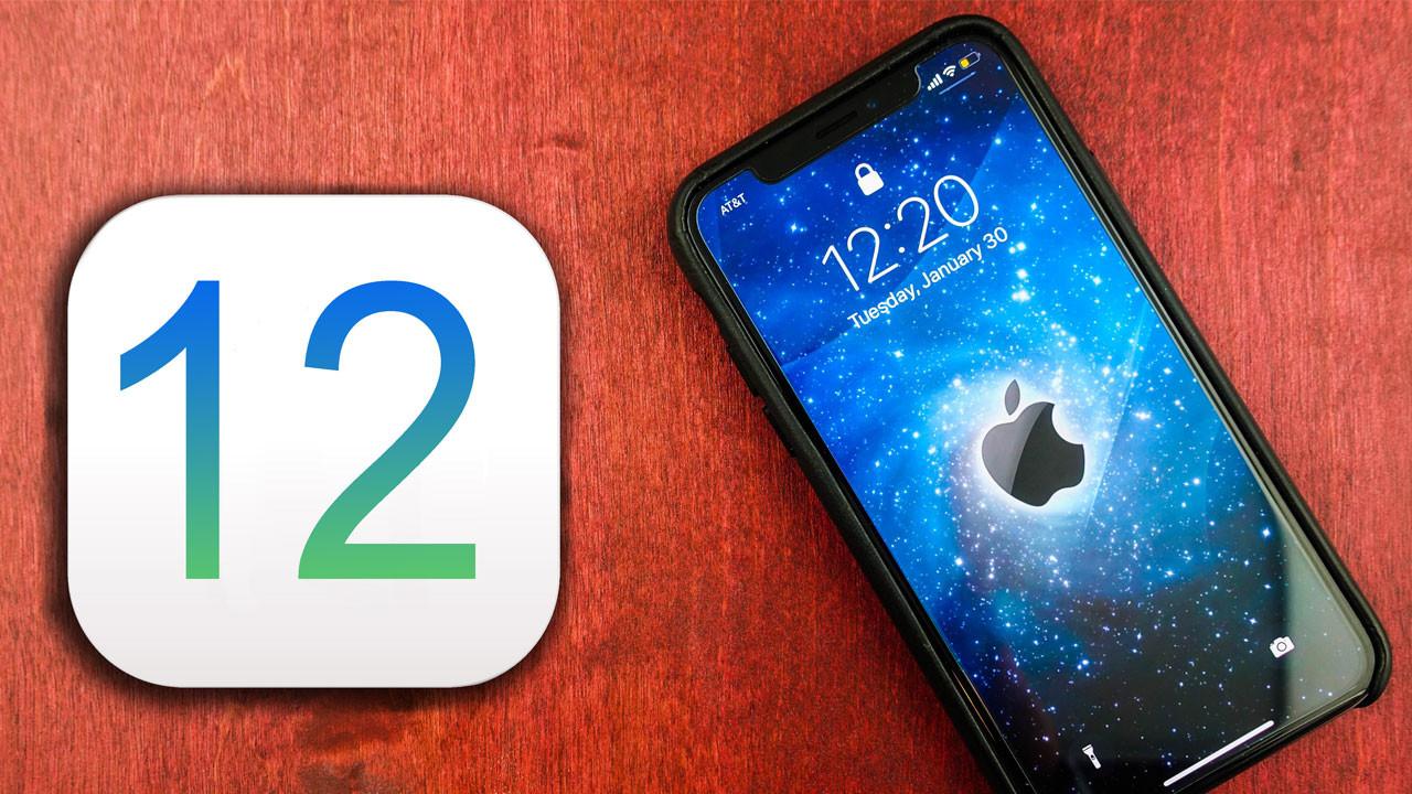 iOS 12'yi hemen yükleyin!