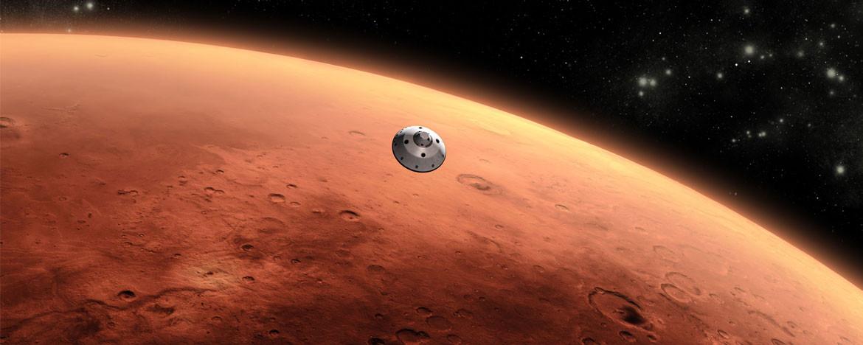 Mars'ta organik moleküller keşfedildi