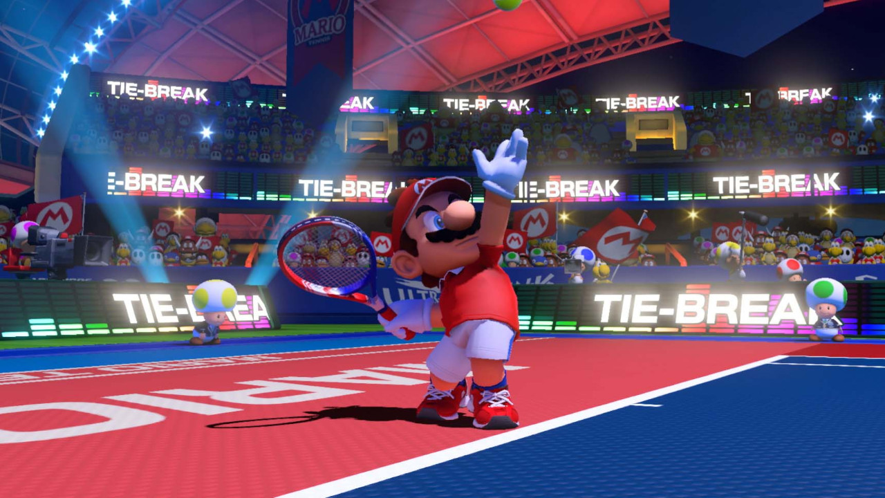 Mario Tennis Aces'ten Rafael Nadal'lı video!