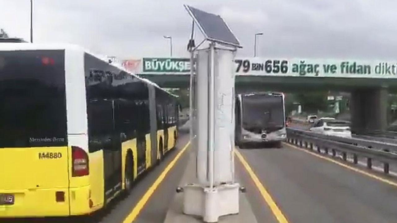 Metrobüs rüzgarı elektrik üretecek