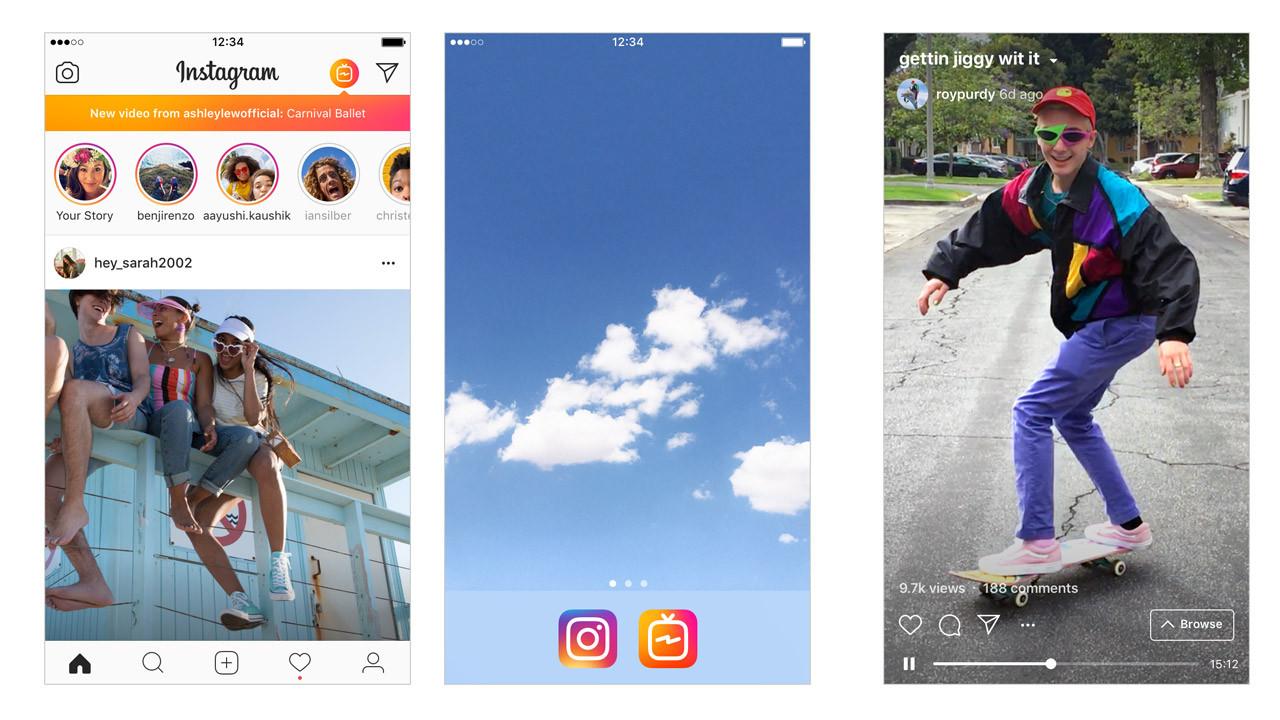 Instagram IGTV'yi duyurdu