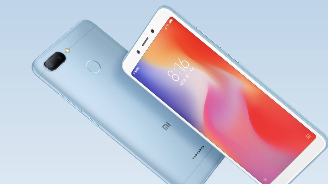 Xiaomi Redmi 6 Pro'dan ilk görsel geldi!