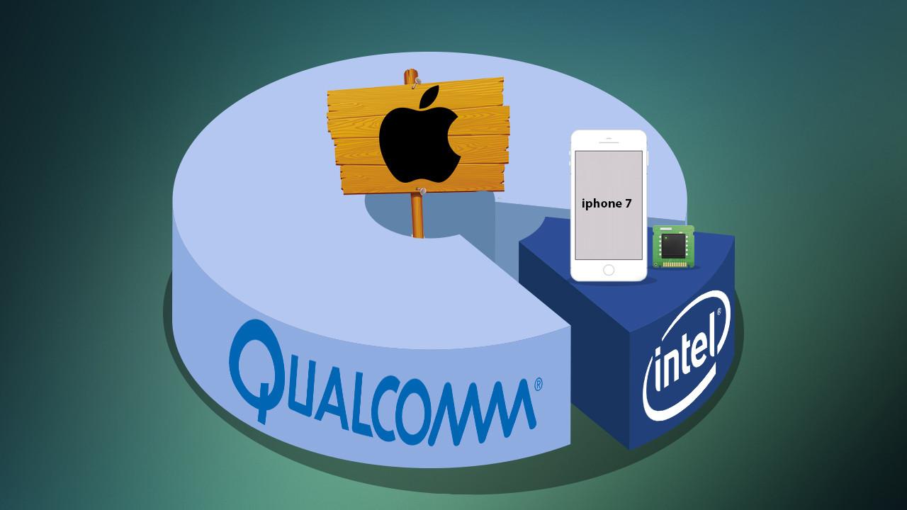 Apple'dan Qualcomm'a patent savaşı!