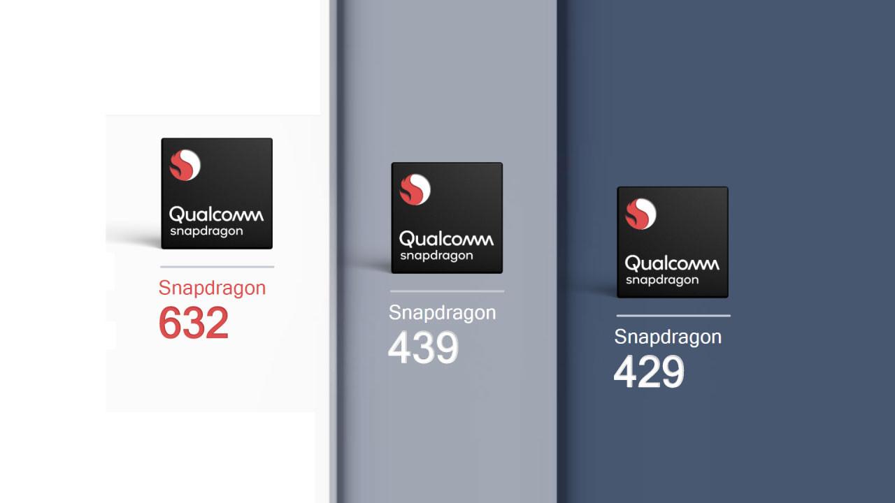 Qualcomm, Snapdragon 632, 439 ve 429'u duyurdu