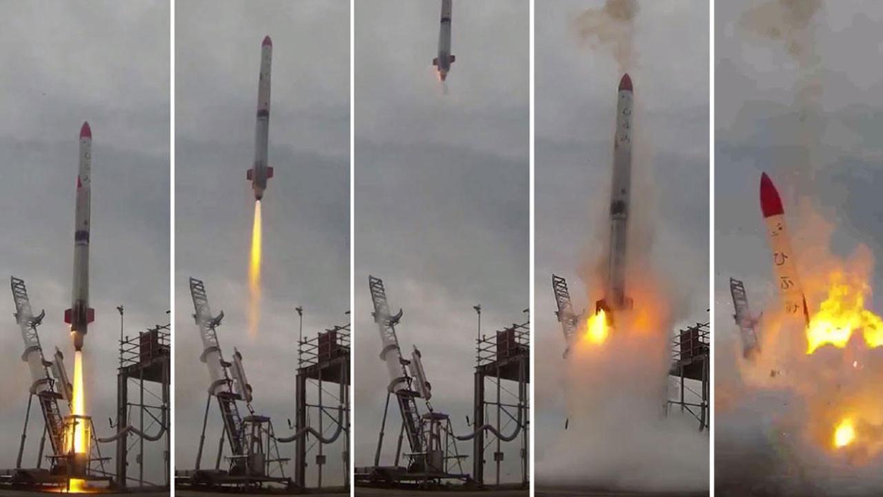 Japon Space X rakibi başarısız oldu