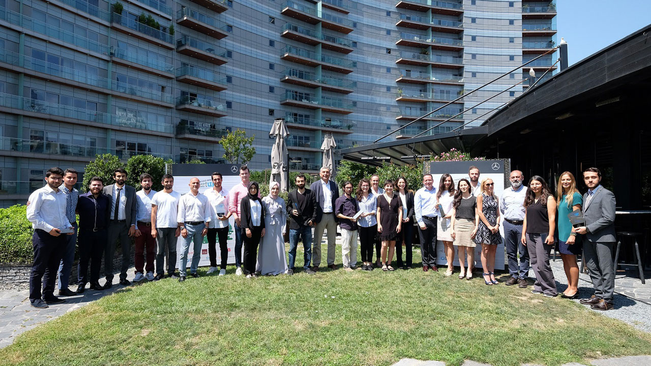 Mercedes-Benz Türk StartUP yarışmasının kazananları belli oldu