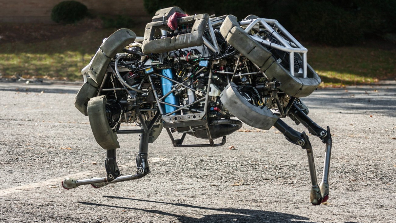 Robot Cheetah görenleri hayrete düşürüyor!