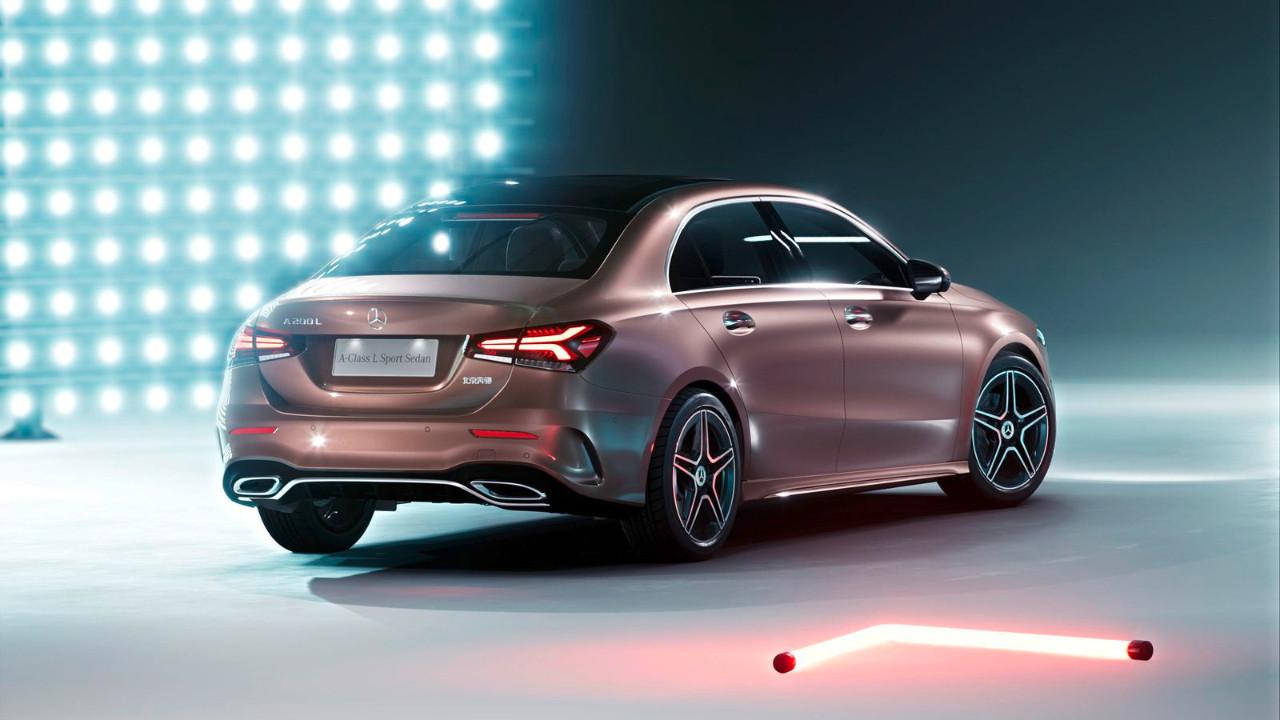 İşte karşınızda yeni Mercedes-Benz A-Class Sedan!