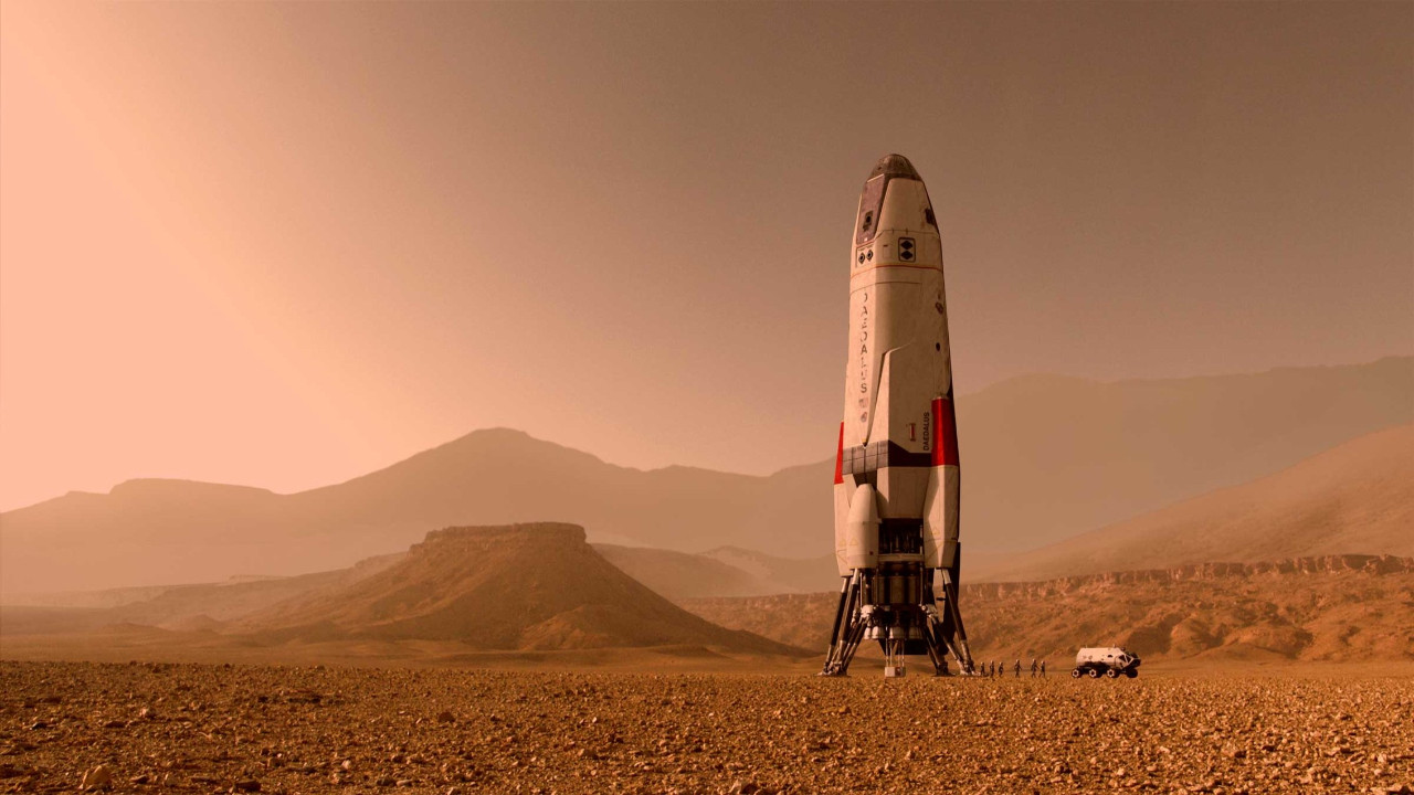 Mars'ta göl bulundu!