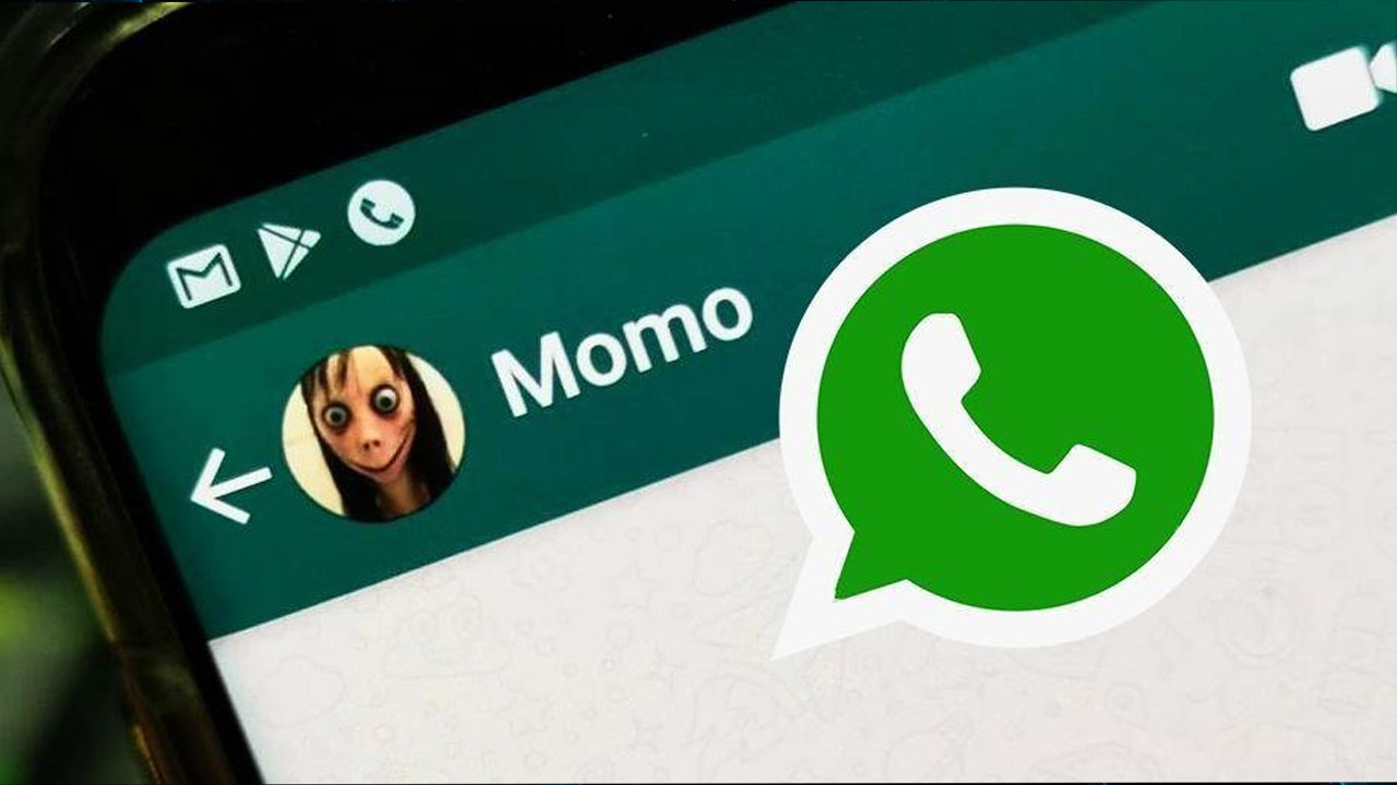 WhatsApp'ta Momo çılgınlığı!