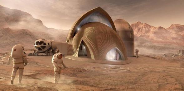 İşte Mars'a yapılacak konutlar! - Page 2