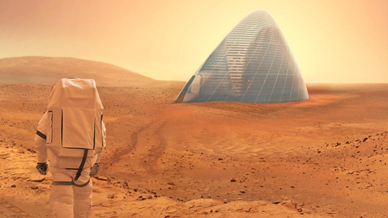 İşte Mars'a yapılacak konutlar!