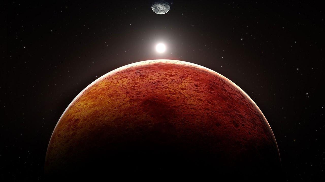Mars şu an Dünya'ya en yakın konumda!