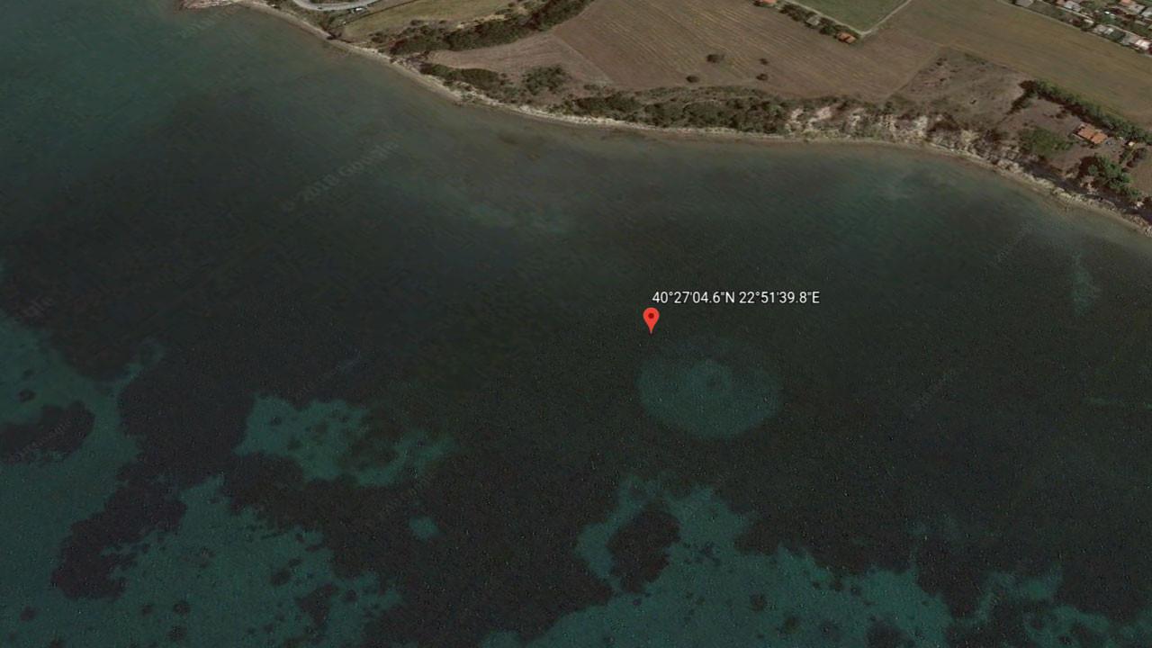 Google Earth Yunanistan'da tanımlanamayan cisim buldu