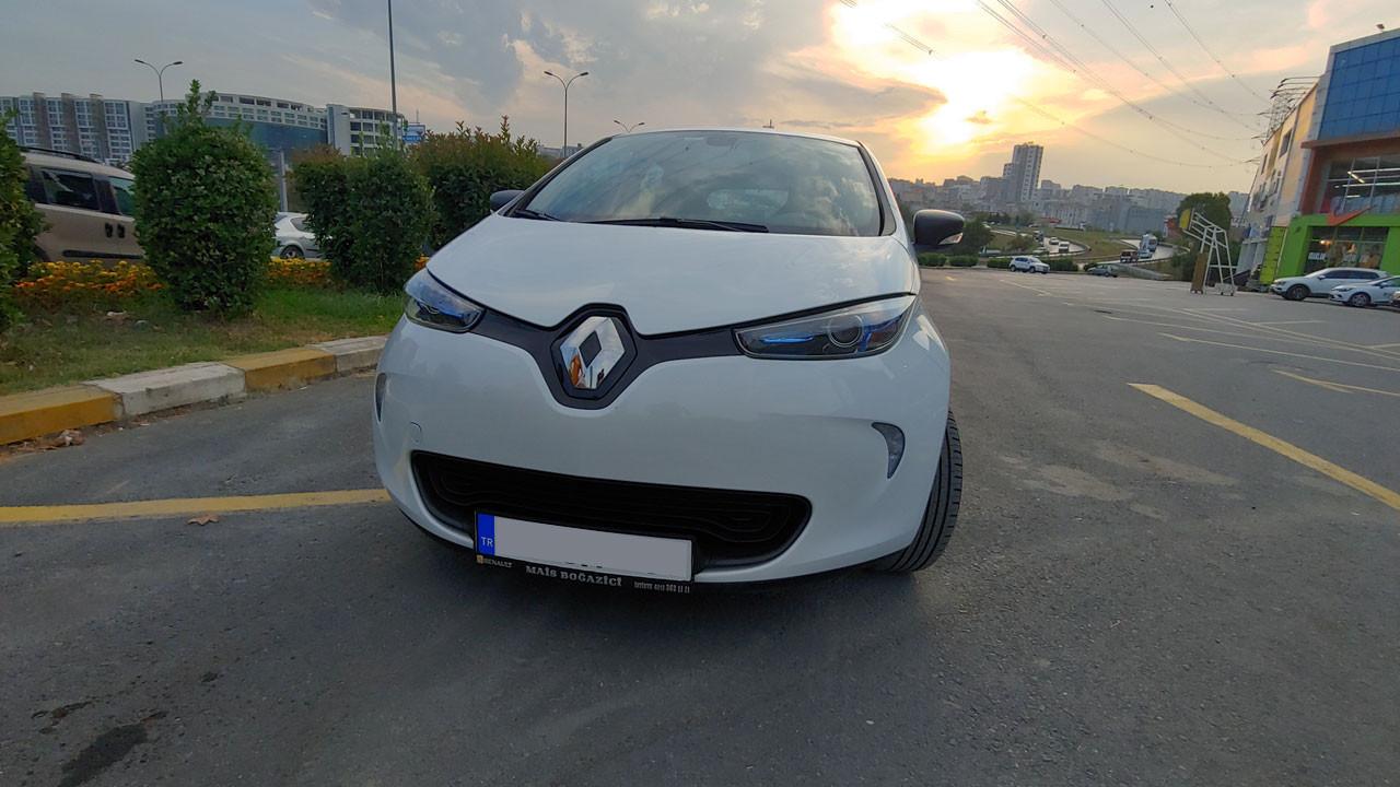 Renault Zoe Z.E. 40 teste geldi!