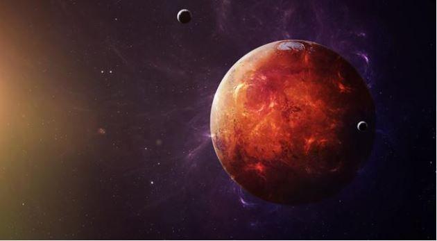 Mars'ta yaşam kurulamayacak iddiası! - Page 1
