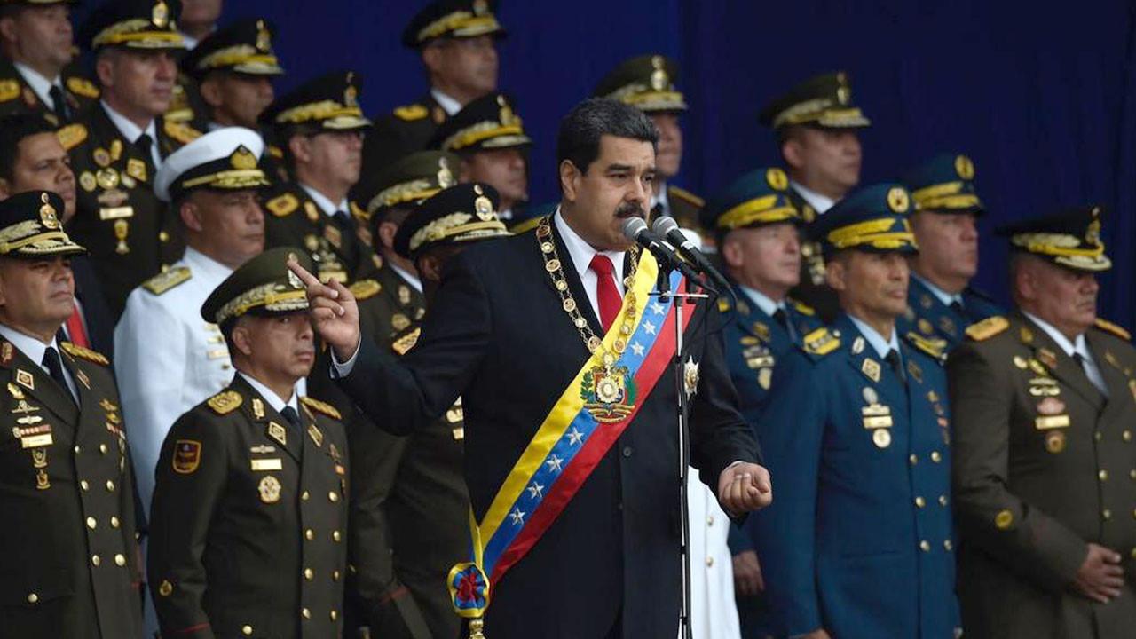 Maduro'ya drone ile suikast yapıldı!