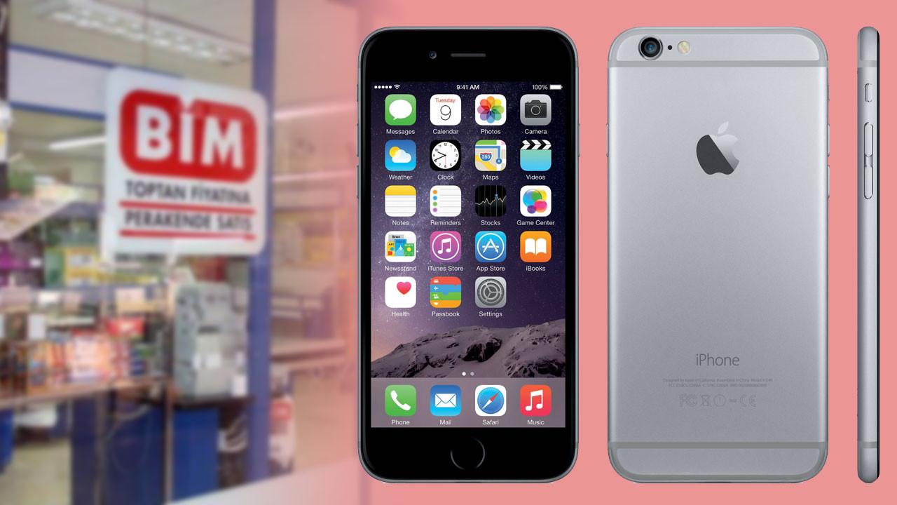 BİM uygun fiyata iPhone 6 satacak!