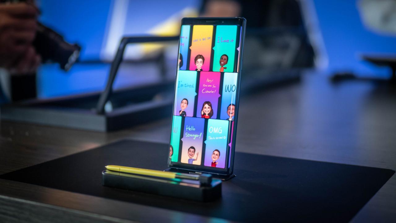 Galaxy Note 9 duvar kağıtları yayınlandı!