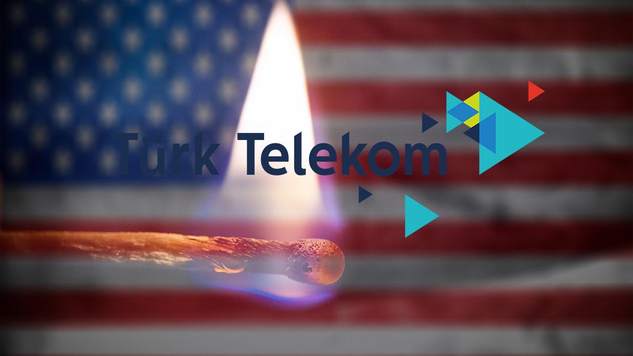 Türk Telekom'dan ABD boykotu!