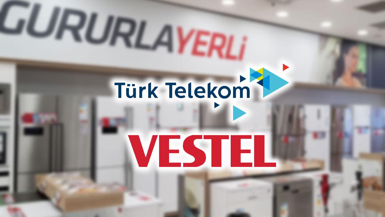 Türk Telekom ve Vestel yerli ürünler için iş birliği yapacak!