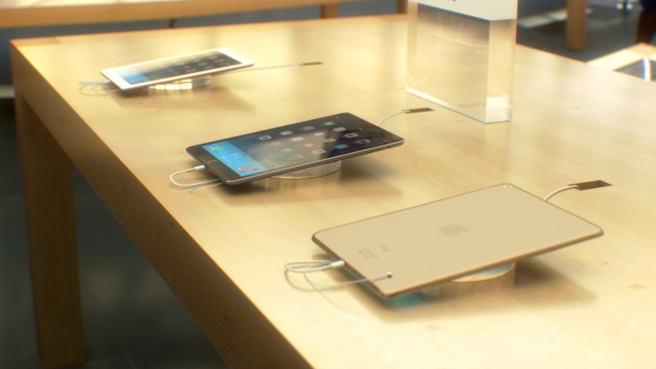 Apple Store'da iPad patladı!