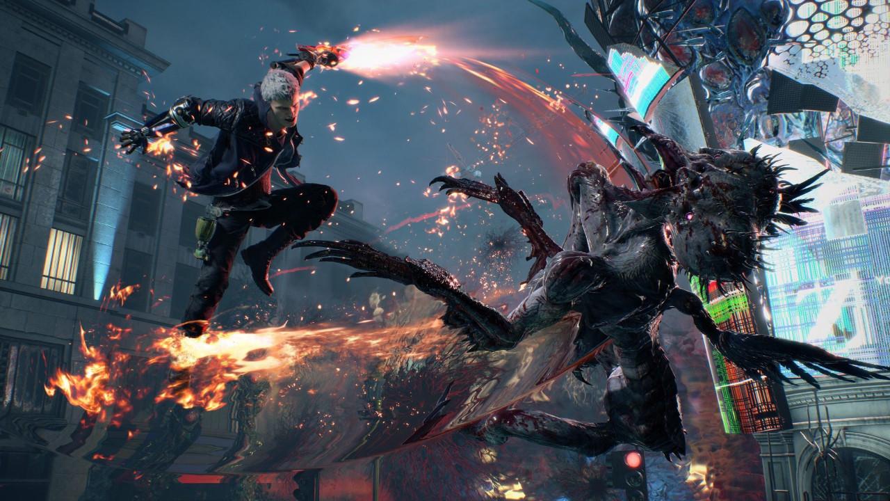 Devil May Cry 5 ilk oynanış videosu!