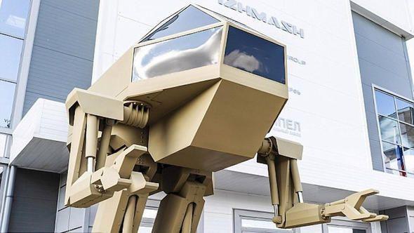 Dev savaş robotu görenleri şaşkına çeviriyor! - Page 2
