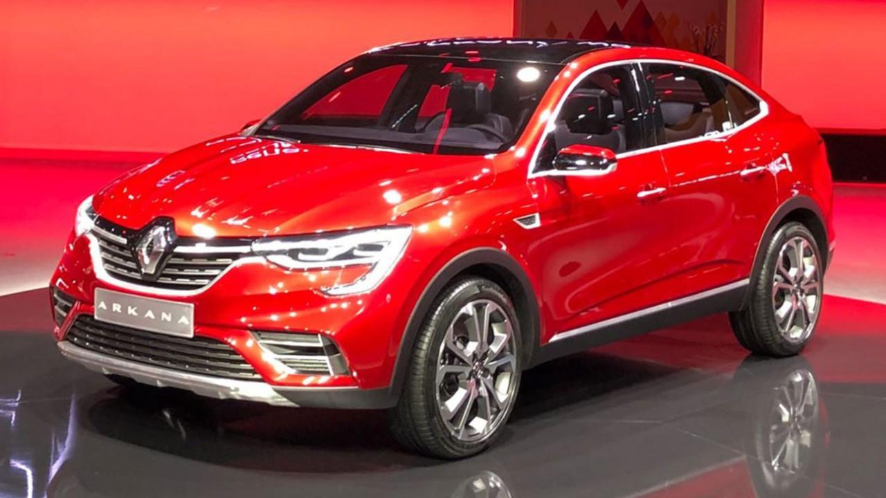 Renault Arkana tanıtıldı!
