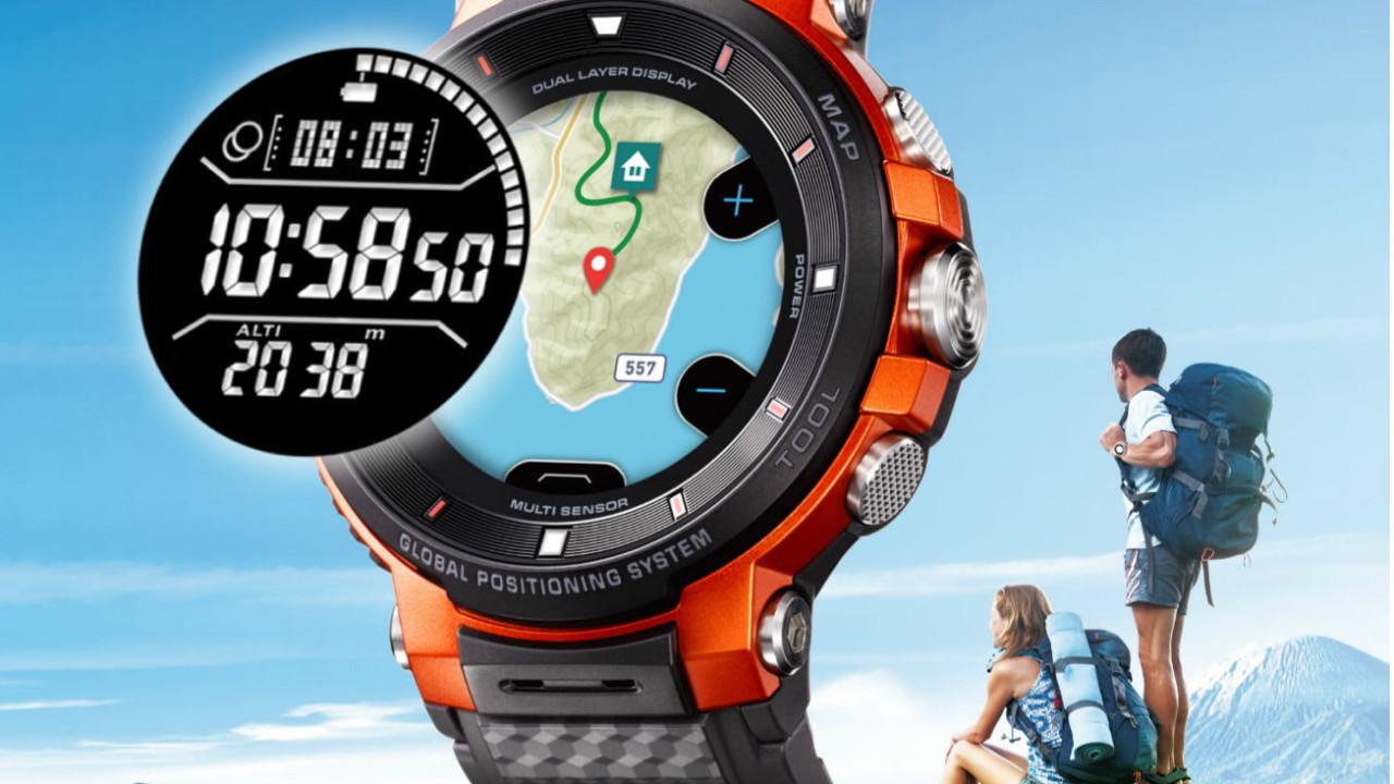 Casio'dan profesyonellere akıllı saat:WSD-F3