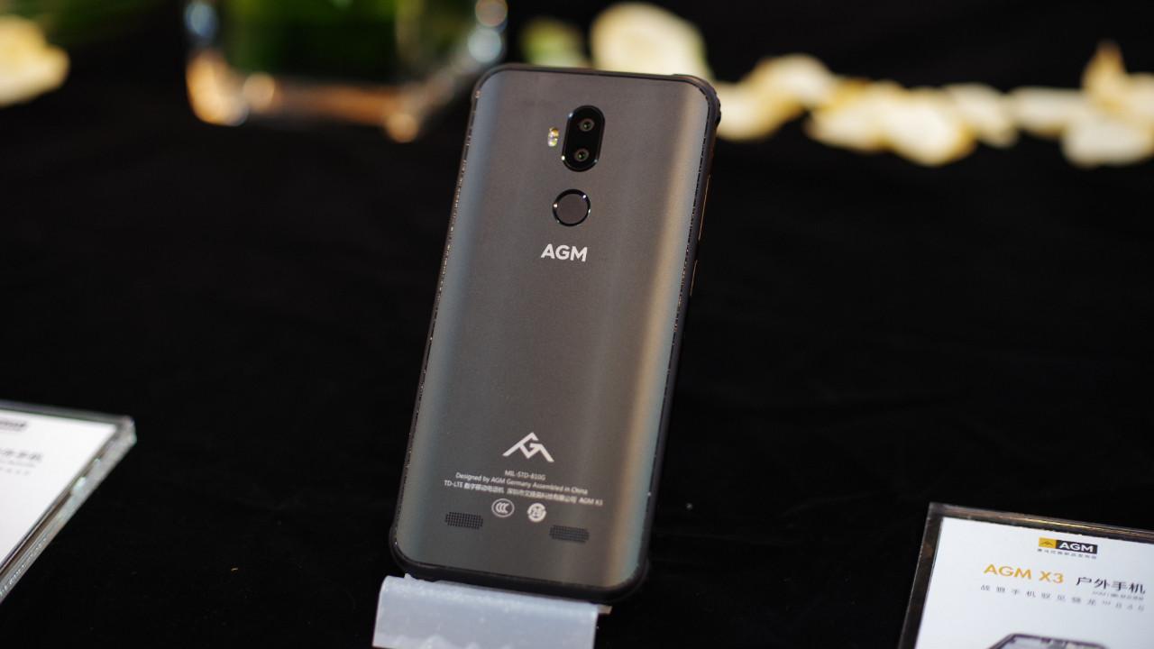 Dünyanın en sağlam telefonu: AGM X3!
