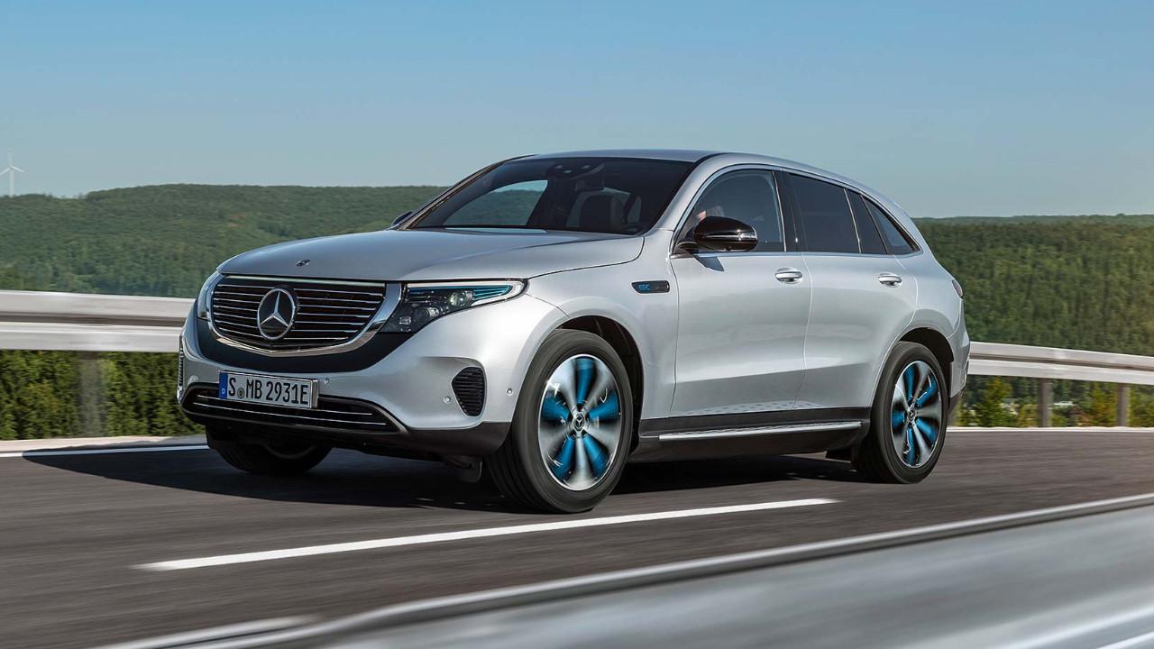 İşte Mercedes'in ilk elektrikli otomobili!