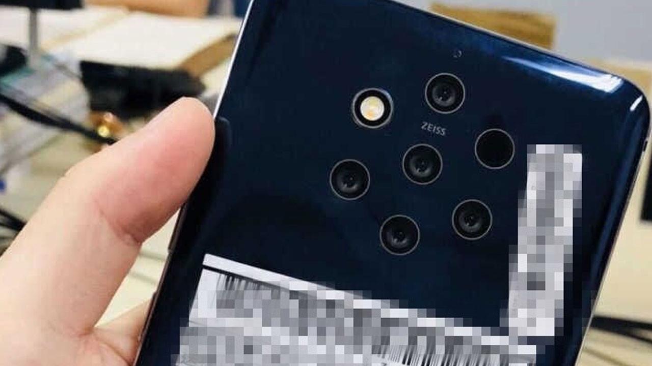Nokia'nın beş kameralı telefonu sızdı