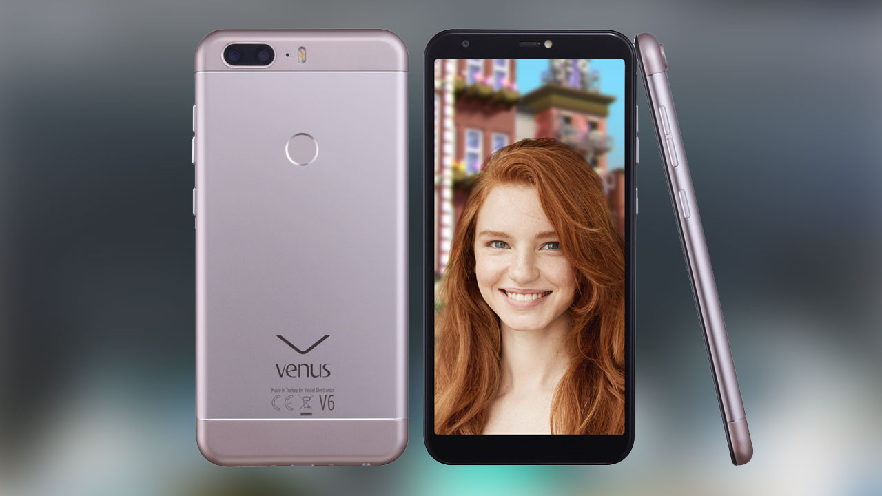 Venus V6 ile selfiler güzelleşecek