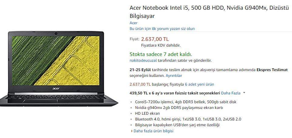 Amazon Türkiye fiyatları nasıl? - Page 1