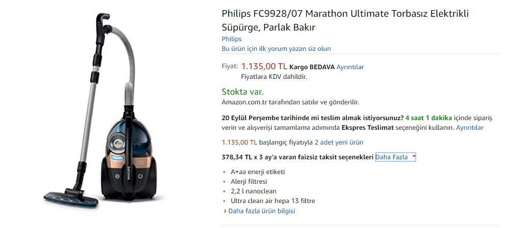 Amazon Türkiye fiyatları nasıl? - Page 4