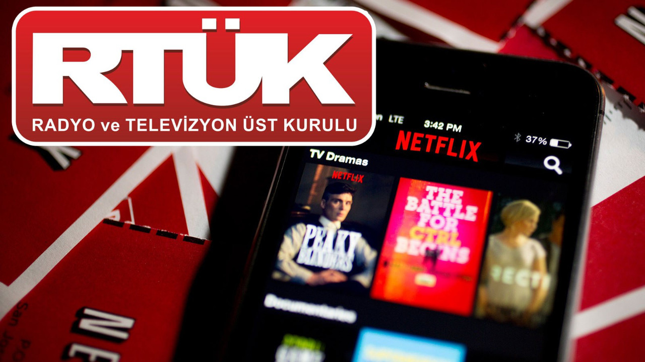 Netflix'e RTÜK darbesi!