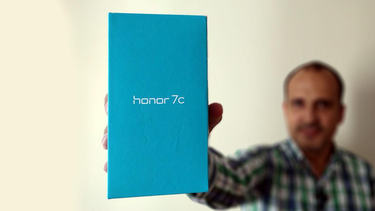 Uygun fiyatlı Honor 7c kutudan çıkıyor!