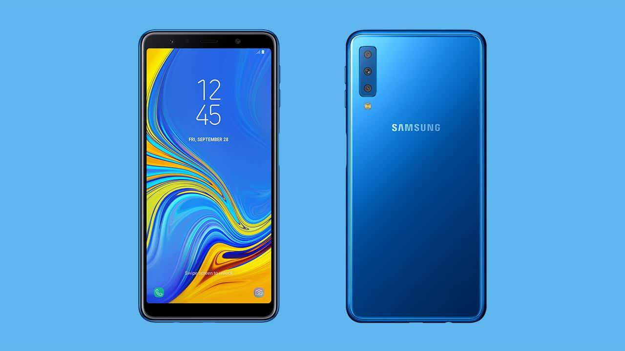 Üç arka kameralı Galaxy A7 (2018) tanıtıldı! İşte özellikleri