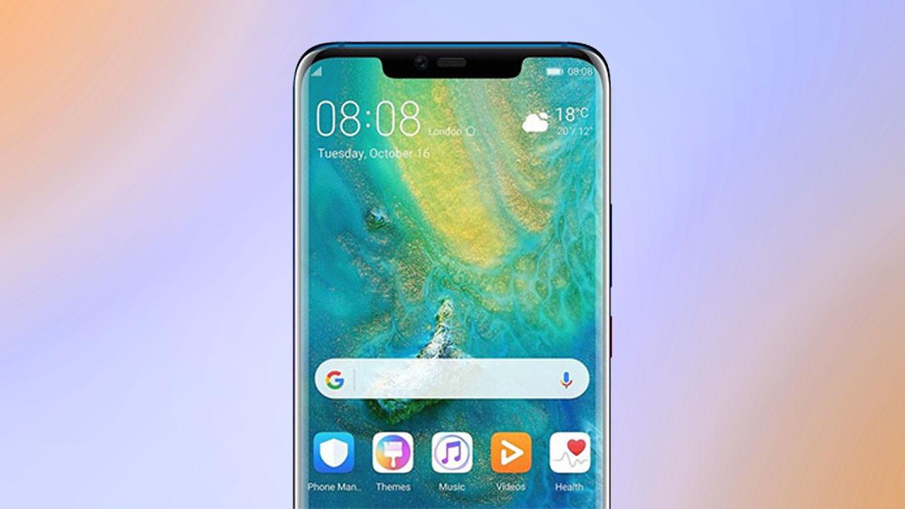 Huawei Mate 20 ailesi ortaya çıktı