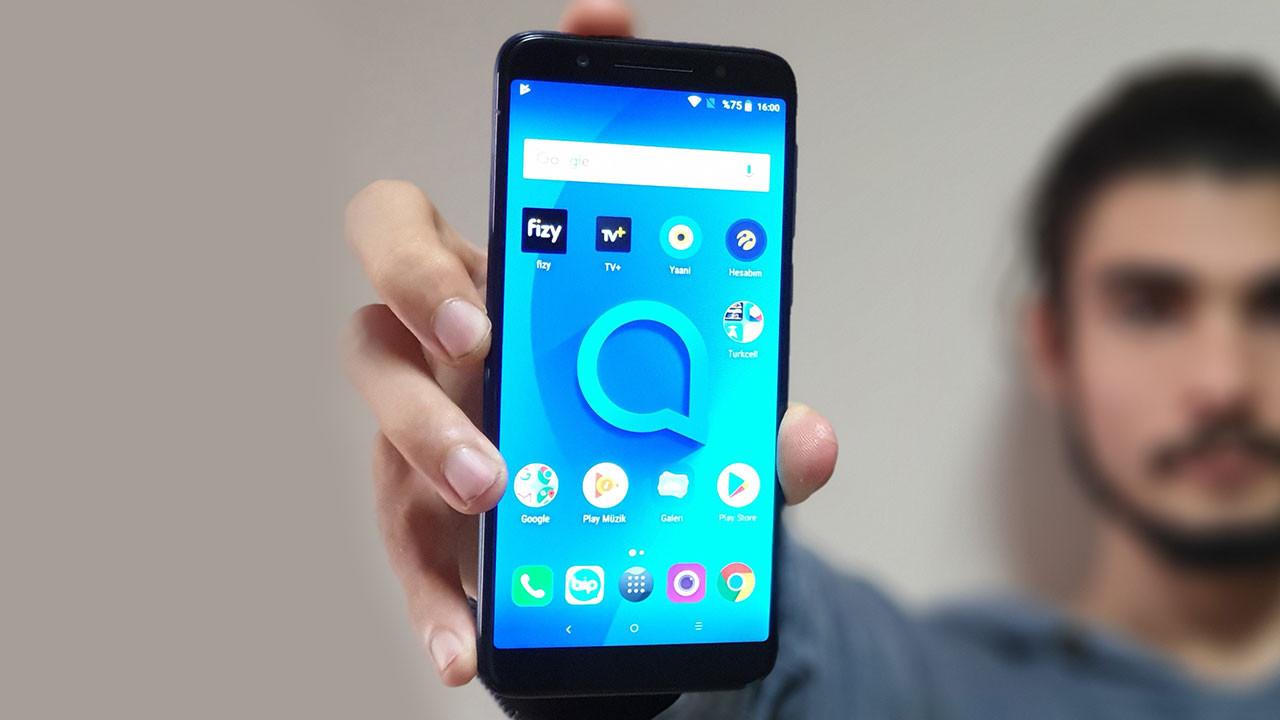 Alcatel 3 cep telefonunu inceliyoruz (Video)