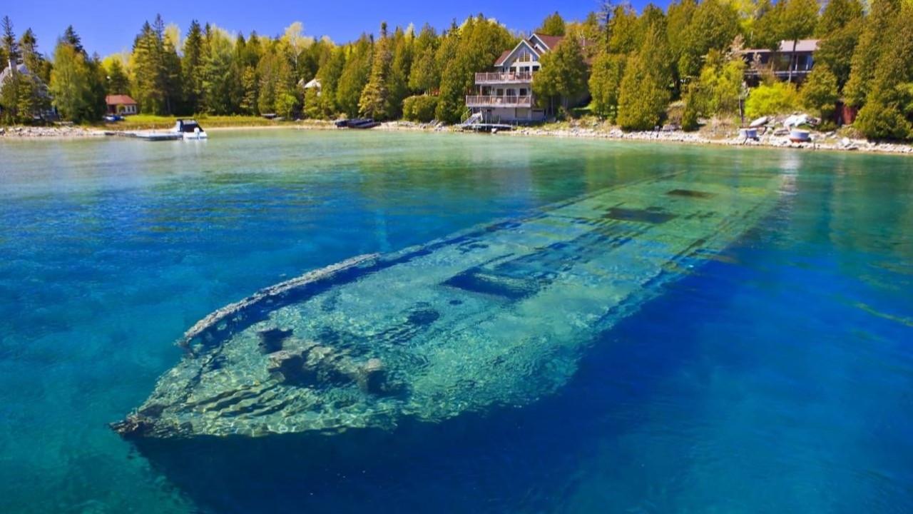 En eski dokunulmamış gemi enkazı Karadeniz'de!