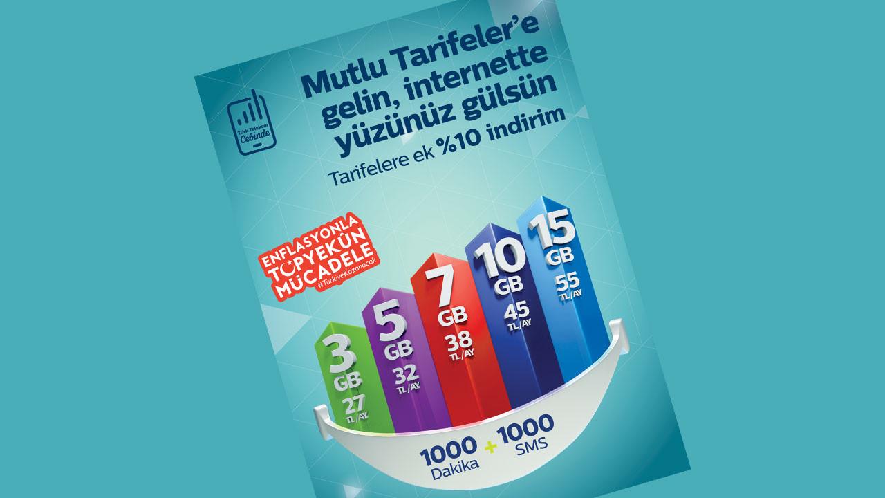 Türk Telekom yeni abonelere yüzde 10 indirim yapacak!
