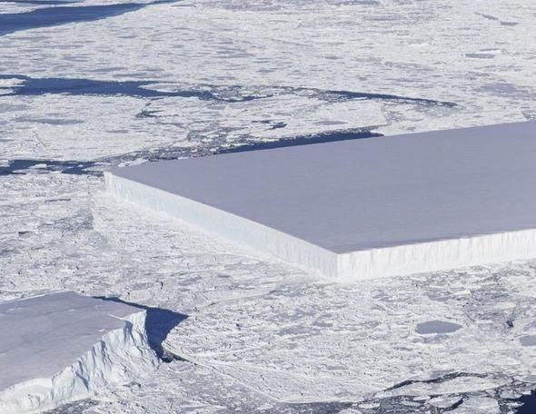 Antarktika'da çekilen bu görüntü akıllara uzaylıları getirdi! - Page 1