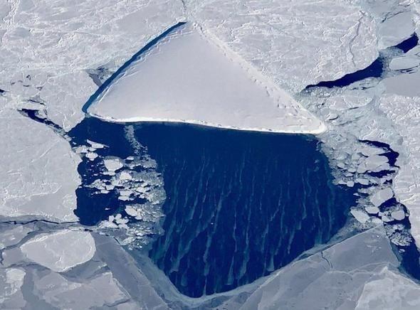 Antarktika'da çekilen bu görüntü akıllara uzaylıları getirdi! - Page 4