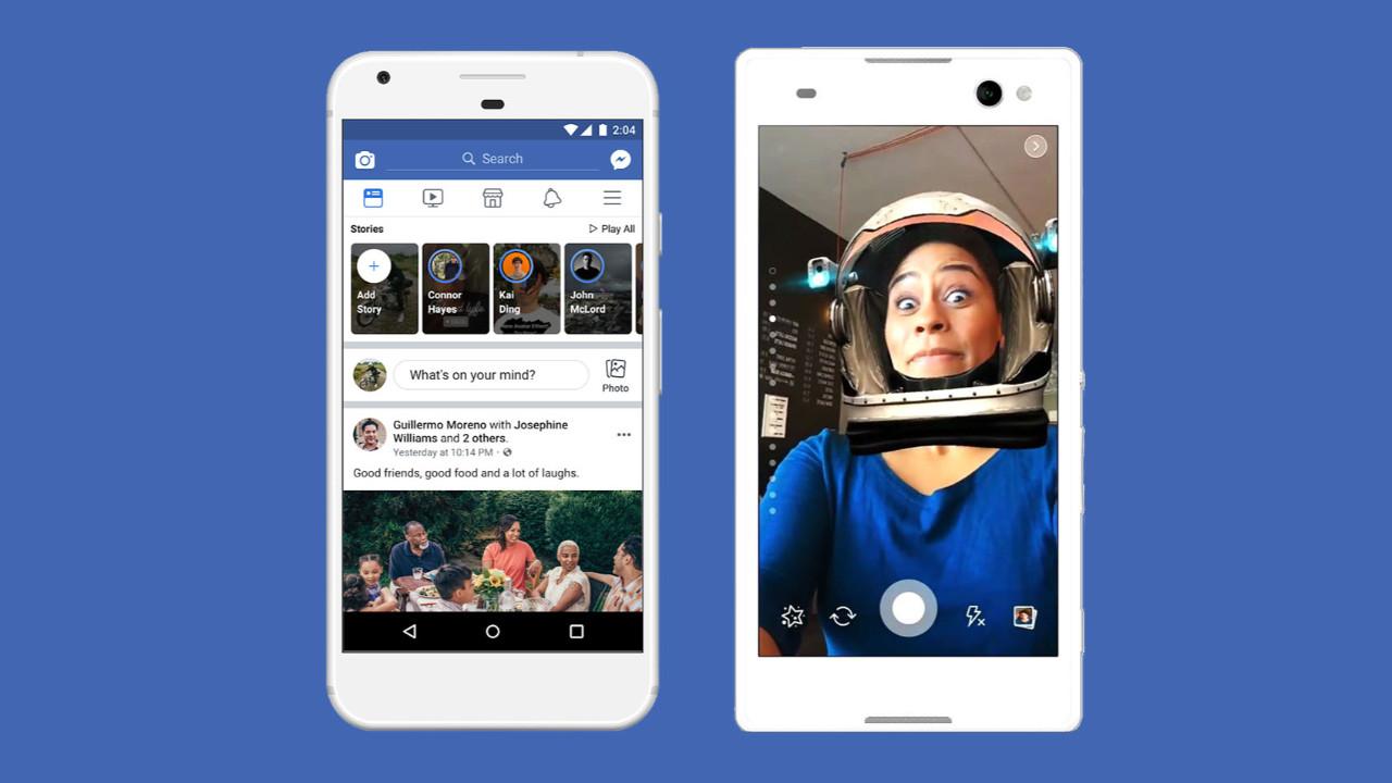 Facebook Hikayeler gelişmeye devam ediyor!